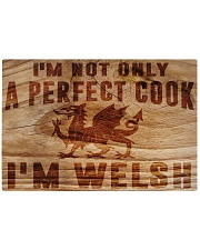 PERFECT COOK I AM WELSH Rectangle Cutting Board front