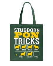 Stubborn PON Tricks Tote Bag thumbnail