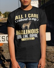 All I Care About Is My Malinois Classic T-Shirt apparel-classic-tshirt-lifestyle-29