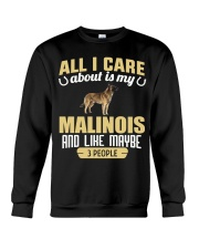 All I Care About Is My Malinois Crewneck Sweatshirt thumbnail