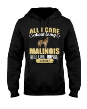 All I Care About Is My Malinois Hooded Sweatshirt thumbnail
