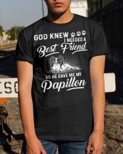 God Sent Best Friend Is My Papillon Classic T-Shirt apparel-classic-tshirt-lifestyle-29