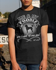 Poodle Is In My Heart And Soul Classic T-Shirt apparel-classic-tshirt-lifestyle-29