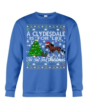Clydesdale Just For Christmas Crewneck Sweatshirt tile