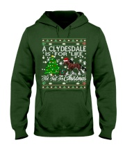 Clydesdale Just For Christmas Hooded Sweatshirt thumbnail