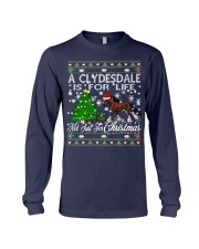 Clydesdale Just For Christmas Long Sleeve Tee thumbnail
