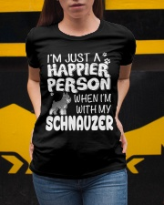 Happier Person  Schnauzer  Ladies T-Shirt apparel-ladies-t-shirt-lifestyle-04