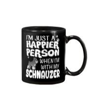 Happier Person  Schnauzer  Mug thumbnail