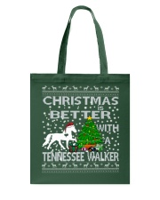 Christmas Is Better With A Tennessee Walker Tote Bag thumbnail