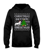 Christmas Is Better With A Tennessee Walker Hooded Sweatshirt thumbnail