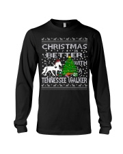 Christmas Is Better With A Tennessee Walker Long Sleeve Tee thumbnail