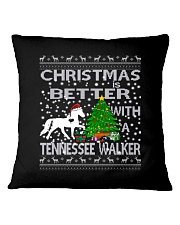 Christmas Is Better With A Tennessee Walker Square Pillowcase thumbnail