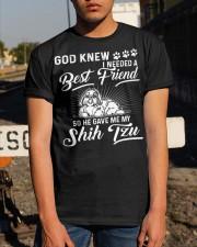 God Sent Best Friend Is My Shih Tzu Classic T-Shirt apparel-classic-tshirt-lifestyle-29