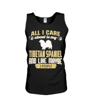 All I Care About Is My Tibetan Spaniel Unisex Tank thumbnail