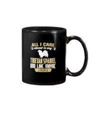 All I Care About Is My Tibetan Spaniel Mug thumbnail