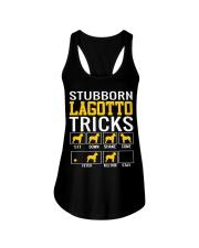 Stubborn Lagotto Tricks Ladies Flowy Tank thumbnail