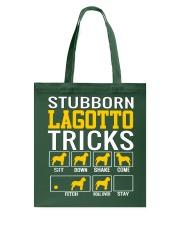 Stubborn Lagotto Tricks Tote Bag thumbnail