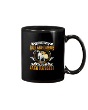 Rich And Famous WIth Jack Russell Mug thumbnail