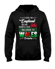 LIVE ENGLAND BUT MY HEART IN WALES  Hooded Sweatshirt thumbnail