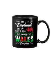 LIVE ENGLAND BUT MY HEART IN WALES  Mug thumbnail