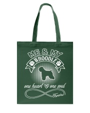 Whoodle Is In My Heart And Soul Tote Bag thumbnail