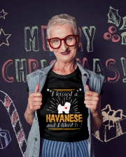 I Kissed A Havanese I Liked It Ladies T-Shirt lifestyle-holiday-crewneck-front-3