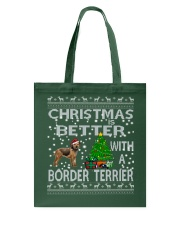 Christmas Is Better With A Border Terrier Tote Bag thumbnail