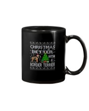 Christmas Is Better With A Border Terrier Mug thumbnail