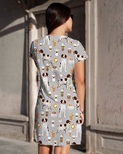 Brittany Spaniel All-over Dress aos-dress-back-lifestyle-1