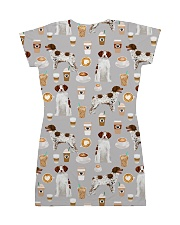 Brittany Spaniel All-over Dress back