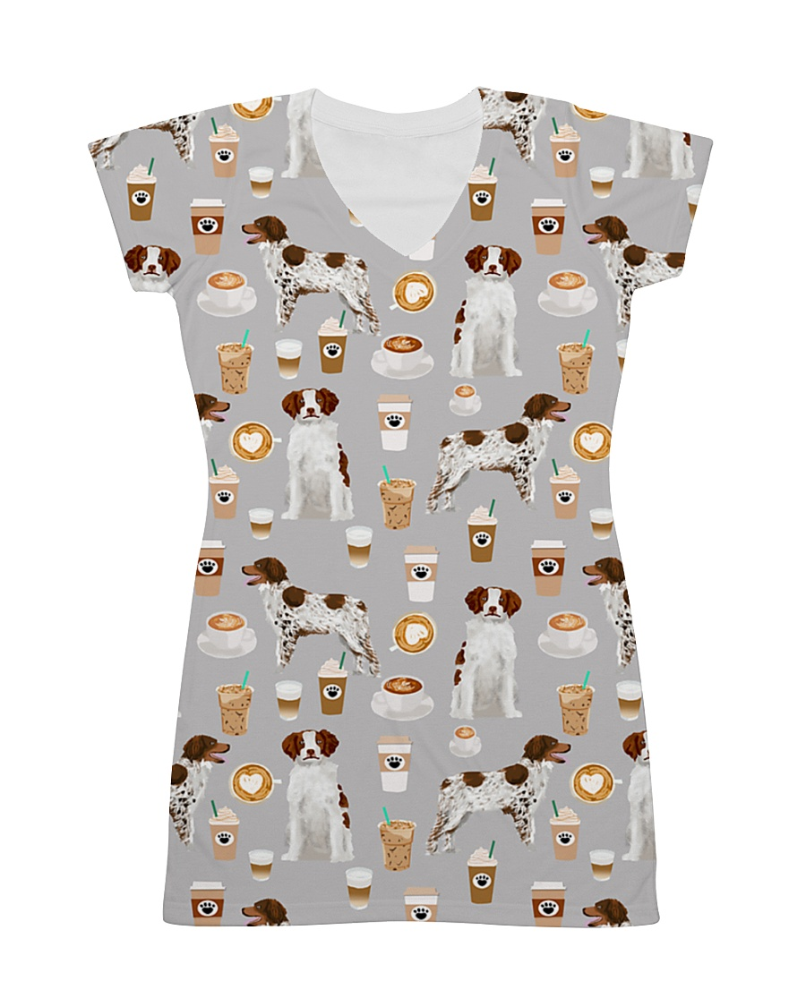 Brittany Spaniel All-over Dress