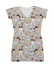 Brittany Spaniel All-over Dress front