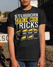 Stubborn Maine Coon Tricks Classic T-Shirt apparel-classic-tshirt-lifestyle-29