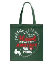 My Heart Paved With Amstaff Paw Prints Tote Bag thumbnail