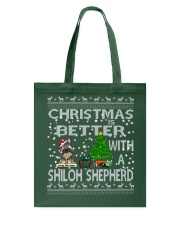 Christmas Is Better With My Shiloh Shepherd Tote Bag thumbnail