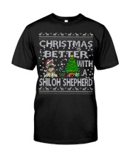 Christmas Is Better With My Shiloh Shepherd Classic T-Shirt thumbnail