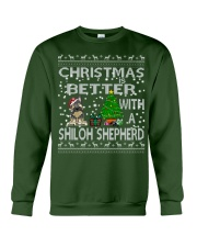 Christmas Is Better With My Shiloh Shepherd Crewneck Sweatshirt front