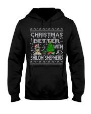 Christmas Is Better With My Shiloh Shepherd Hooded Sweatshirt thumbnail
