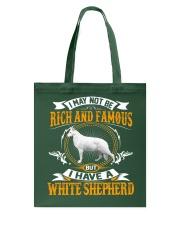 WHITE SHEPHERD Tote Bag thumbnail
