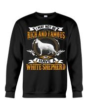 WHITE SHEPHERD Crewneck Sweatshirt front