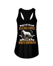 WHITE SHEPHERD Ladies Flowy Tank thumbnail