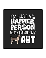 American Hairless Terrier Square Coaster front
