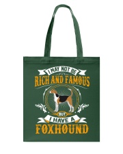 Rich And Famous WIth Foxhound Tote Bag thumbnail