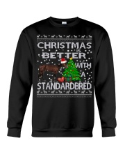 Christmas Is Better With A Standardbred Crewneck Sweatshirt tile
