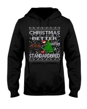 Christmas Is Better With A Standardbred Hooded Sweatshirt thumbnail