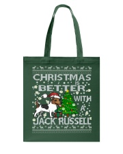 Christmas Is Better With A Jack Russell Tote Bag thumbnail
