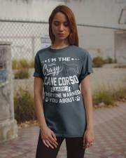 Crazy Cane Corso Lady Classic T-Shirt apparel-classic-tshirt-lifestyle-18