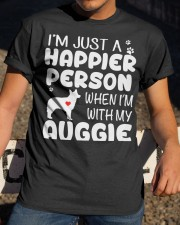 Happier Person Auggie Classic T-Shirt apparel-classic-tshirt-lifestyle-28