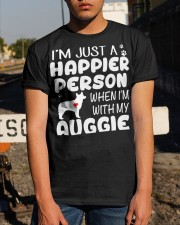 Happier Person Auggie Classic T-Shirt apparel-classic-tshirt-lifestyle-29