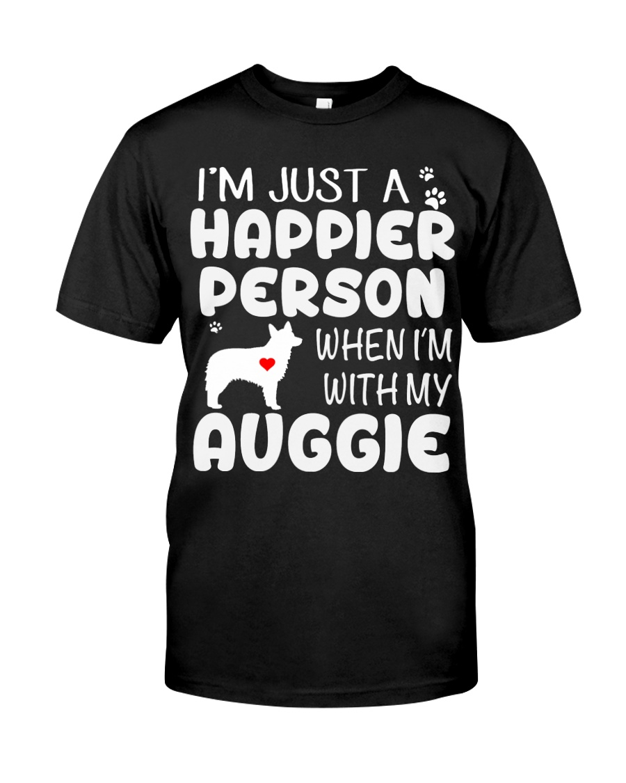 Happier Person Auggie Classic T-Shirt